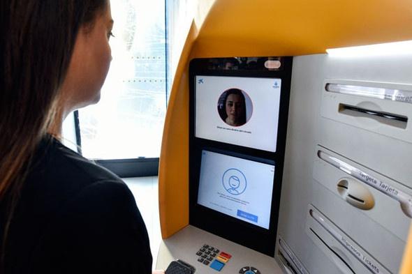 CaixaBank, pionera en el uso del reconocimiento facial en los cajeros automáticos