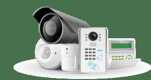 Componentes de un sistema de alarma